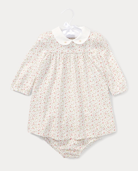 Floral Jersey Dress & Bloomer