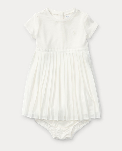 Pleated Tee Dress & Bloomer