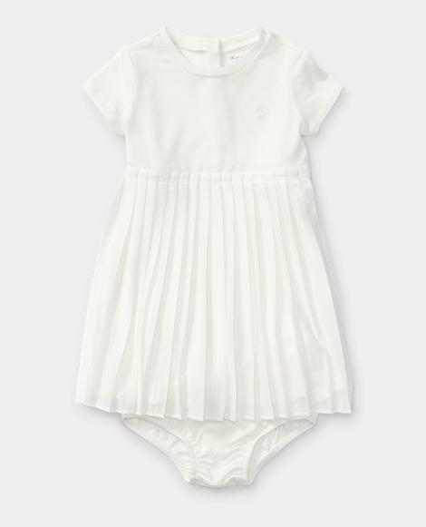 Pleated Tee Dress & Bloomer