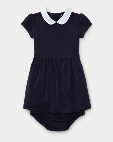 Crepe Dress & Bloomer