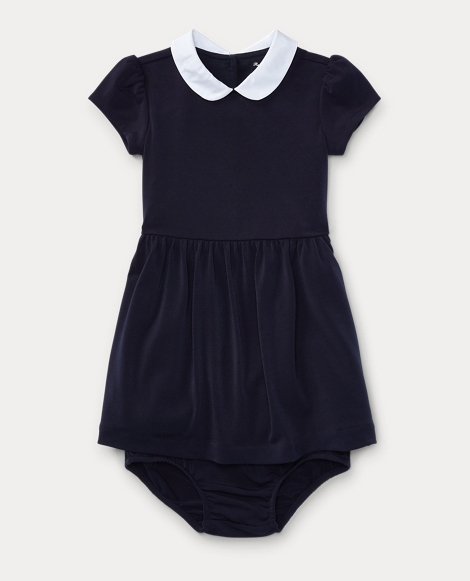 Crepe Dress & Bloomer