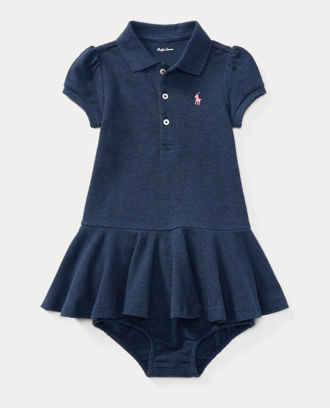 Cotton Polo Dress & Bloomer