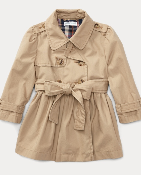 Cotton Swing Trench Coat