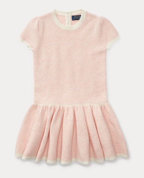 Drop-Waist Sweater Dress