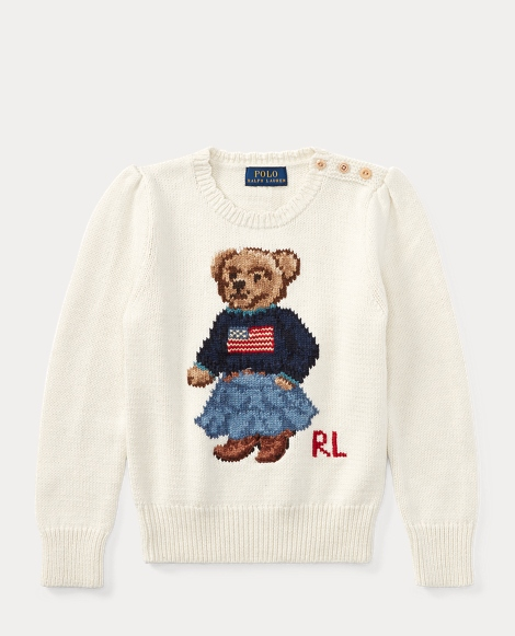 Polo Bear Cotton Sweater