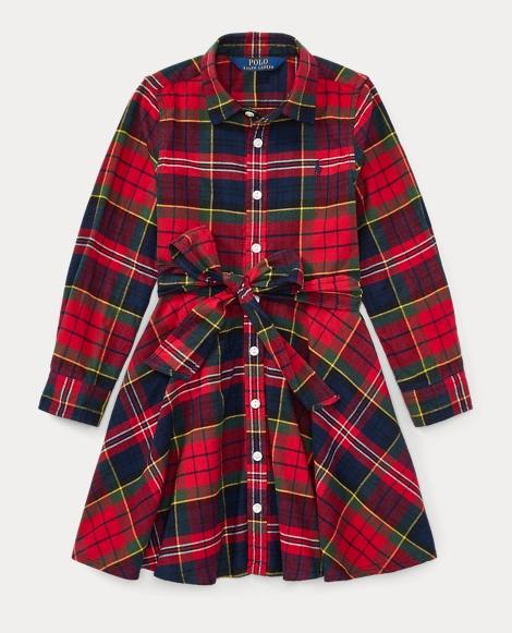 Tartan Flannel Cotton Dress