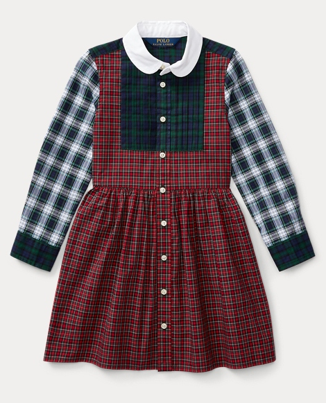Tartan Cotton Shirtdress