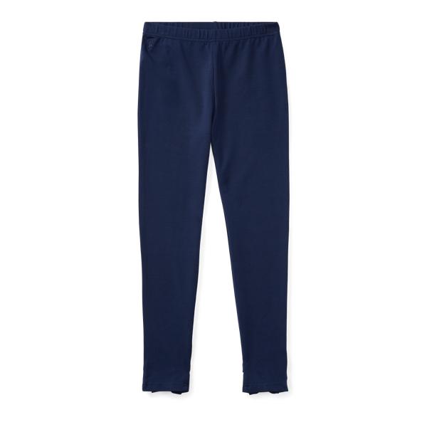Ralph Lauren Bow-Back Jersey Legging French Navy S