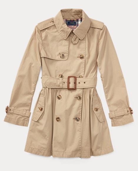 Cotton Swing Trench Coat