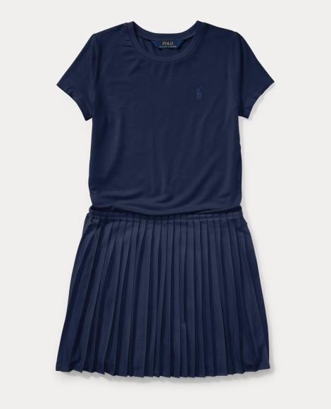 Tee-and-Skirt Dress