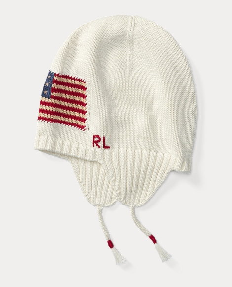 Flag Cotton Earflap Hat