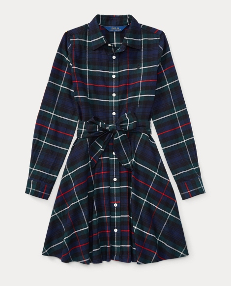 Tartan Flannel Cotton Dress