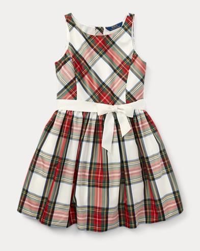 Tartan Taffeta Dress
