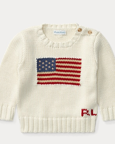 Flag Cotton Sweater