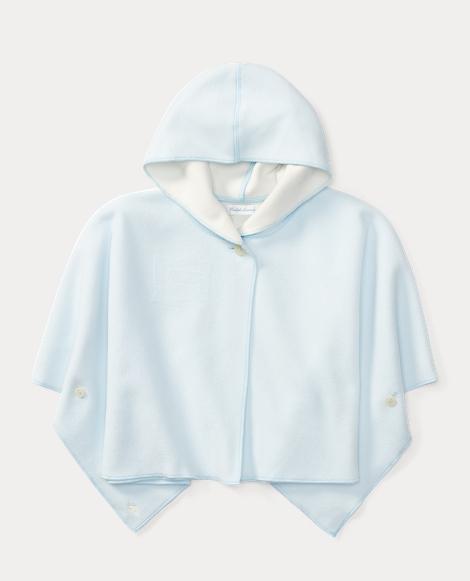 Fleece Hooded Poncho