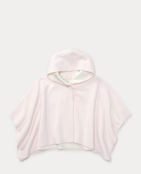 Microfleece Hooded Poncho