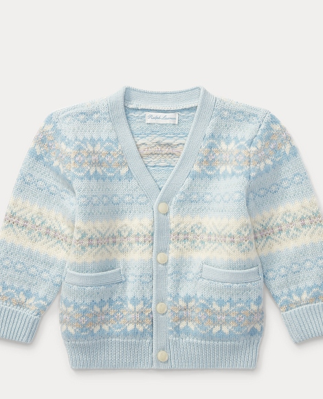 Fair Isle Wool-Blend Cardigan