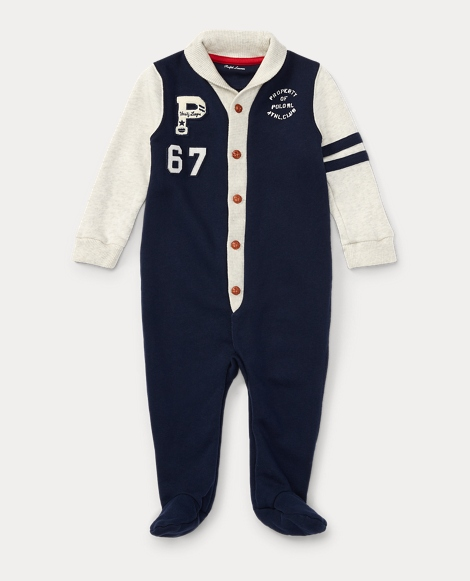 Cotton French Terry Coverall