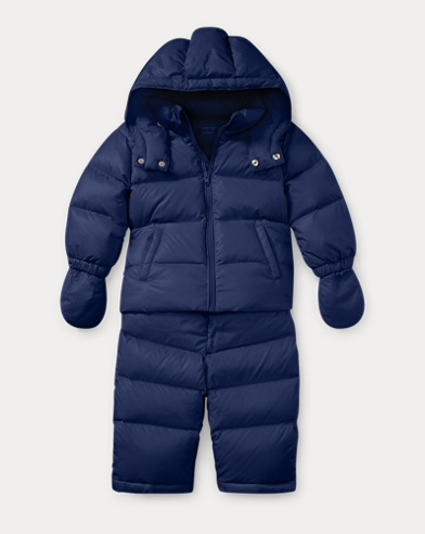 Down 2-Piece Snowsuit