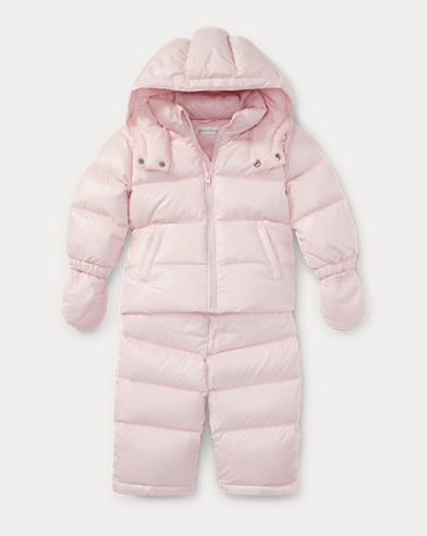 Hooded Down Snowsuit