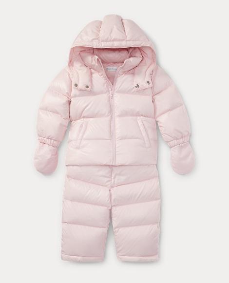 Hooded Down Snowsuit