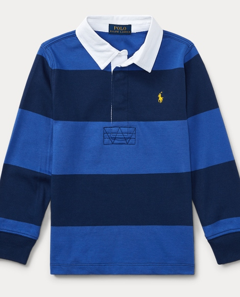 Striped Cotton Rugby Shirt