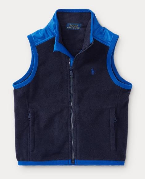 Fleece Hybrid Vest