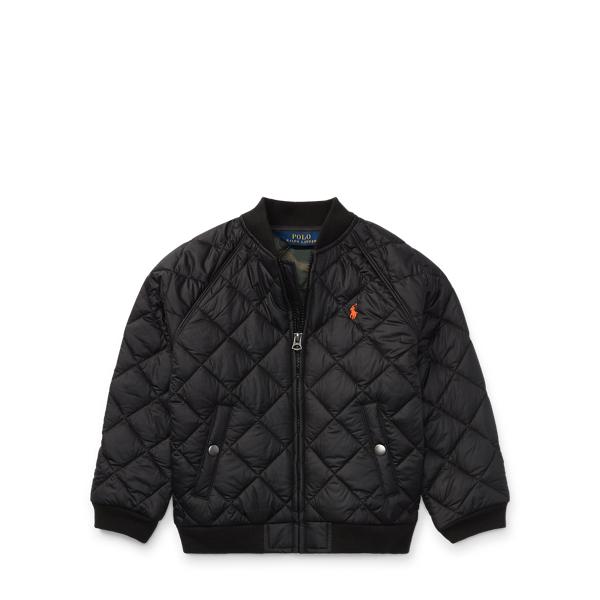 Ralph Lauren Matte Ball Jacket Polo Black 3T