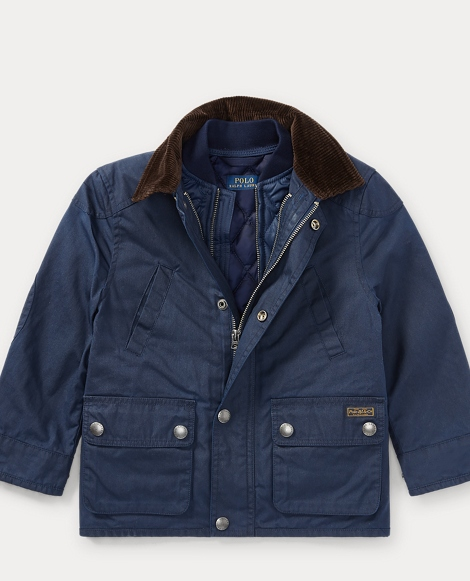 2-in-1 Canvas Barn Jacket