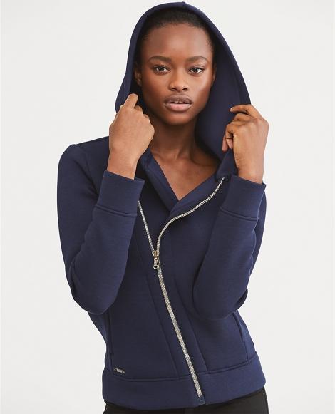 Asymmetrical Zip-Up Hoodie