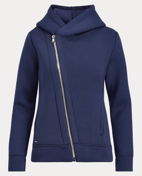 Asymmetrical Zip-Up Hoodie