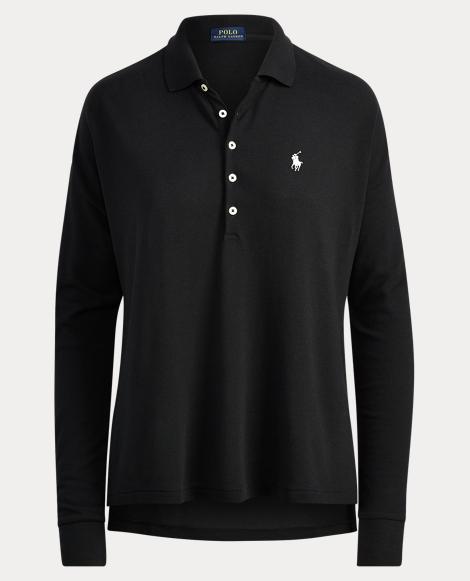 Poncho Mesh Polo Shirt