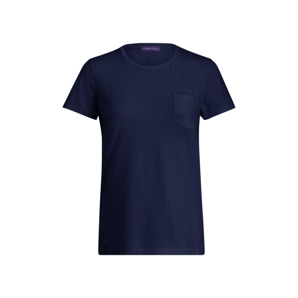 Ralph Lauren Short-Sleeve Pocket Tee Navy Xs