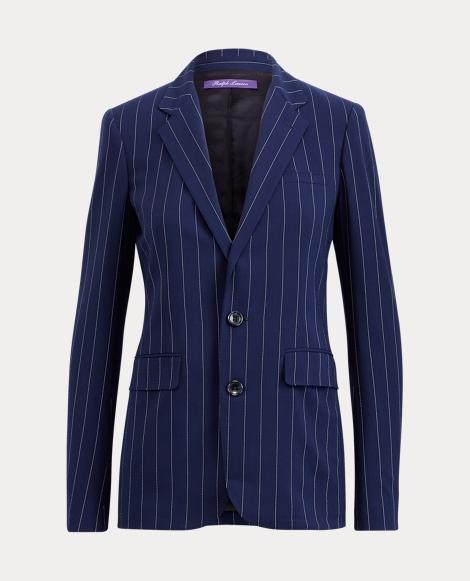 Fabian Pinstripe Wool Jacket
