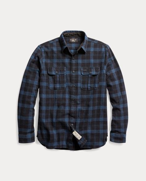 Plaid Cotton Workshirt