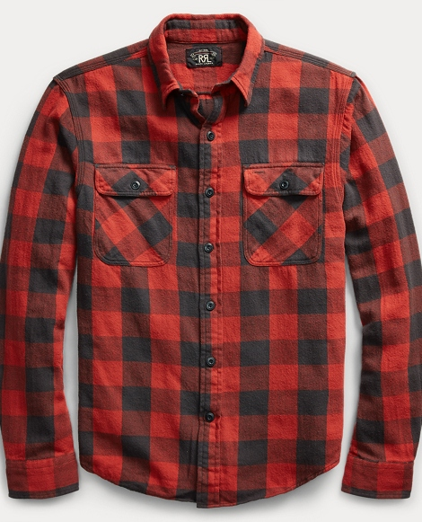 Matlock Plaid Cotton Workshirt