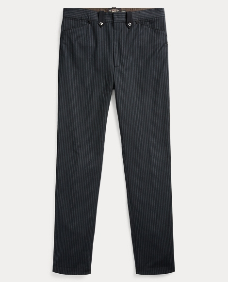 Wool-Cotton Western Pant