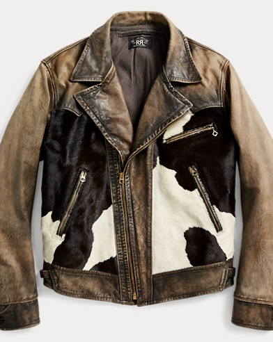 Hair-on-Hide Leather Jacket