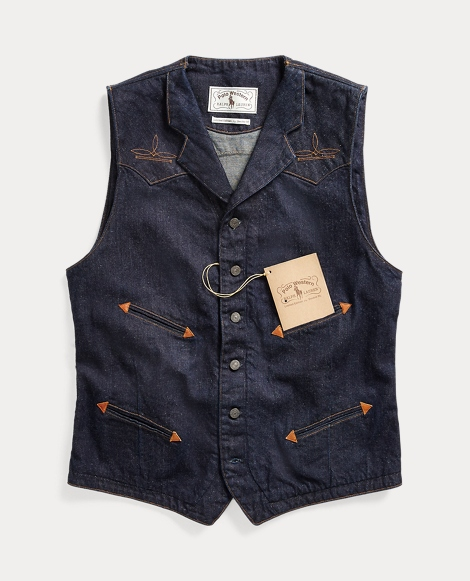 Limited-Edition Denim Vest