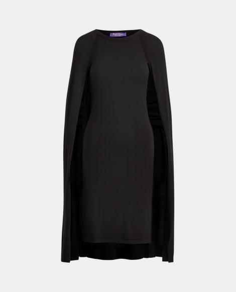 Merino Wool Cape Dress
