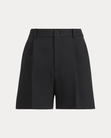 Tracy High-Rise Wool Short
