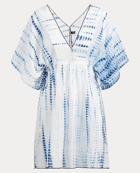 Tie-Dye Tunic Cover-Up