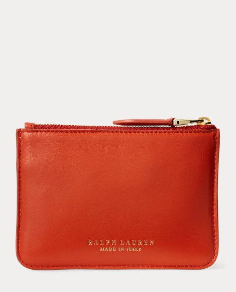 Nappa Mini Zip Pouch
