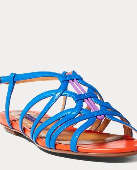 Mandel Color-Blocked Sandal