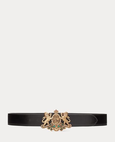 Lion-Crest Luxe Calf Belt