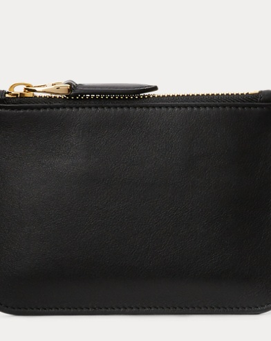 Luxe Calf Mini Zip Pouch