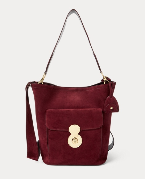 The Suede RL Bucket Bag