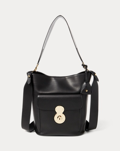 The Calfskin RL Bucket Bag