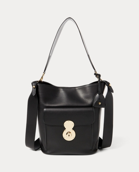 The Calfskin RL Bucket Bag