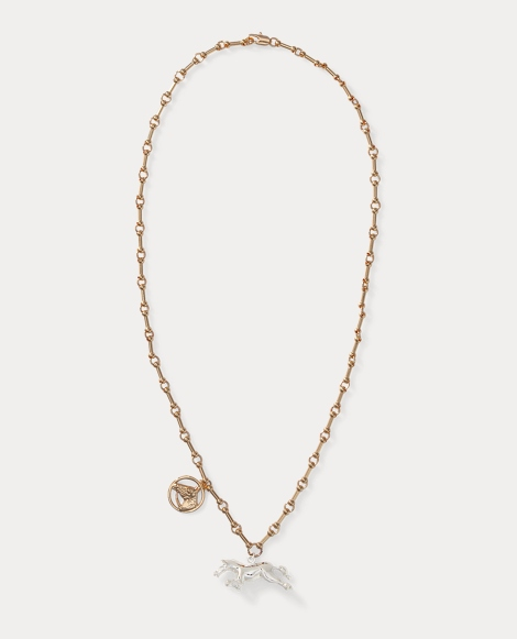 Horse Charm Necklace